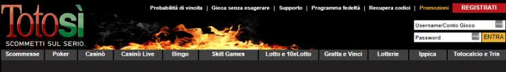 Tutto sul bonus benvenuto scommesse Totosì: bonus fino a 250€
