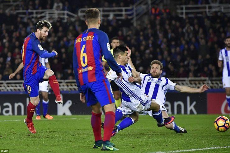 Real Sociedad Barcellona diretta streaming: come vedere il match