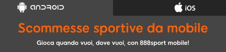 App 888sport mobile per scommesse sportive: la nostra recensione