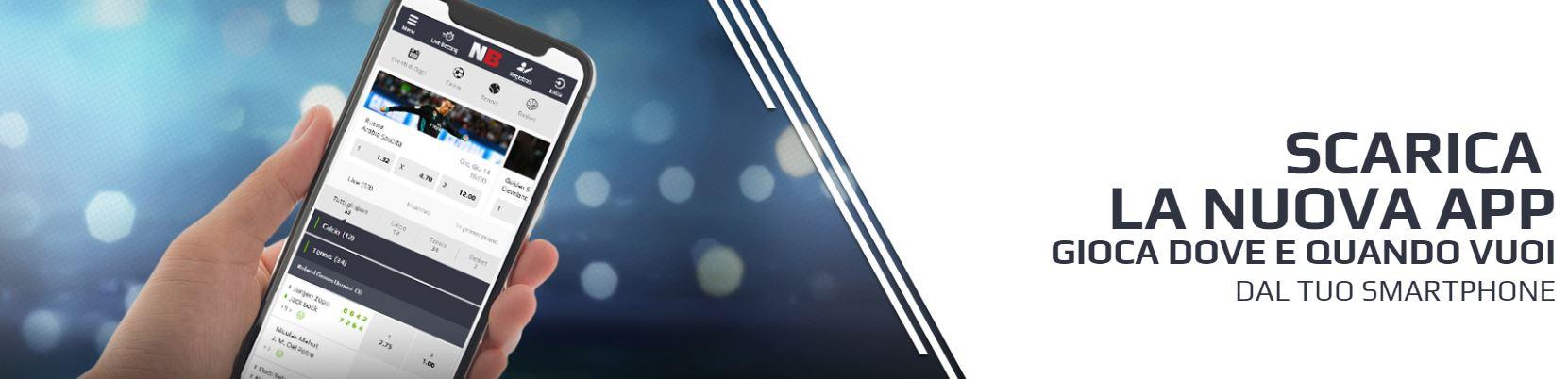 App netbet mobile per scommesse da smartphone e tablet