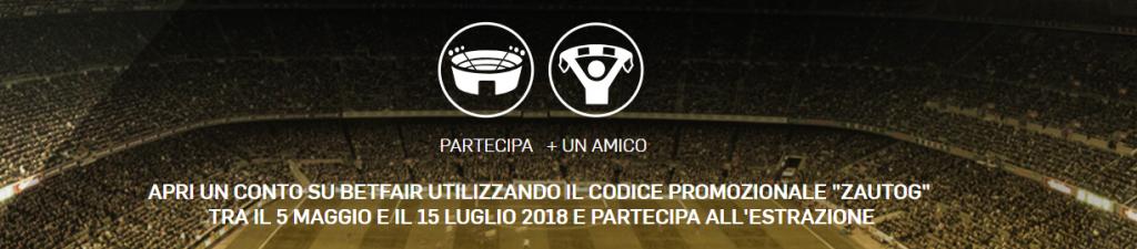 BETFAIR Concorso Serie A 2018/19 VINCI IL GRANDE CALCIO DAL VIVO