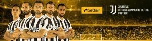 Betfair ti porta allo stadio a vedere le partite della Juventus