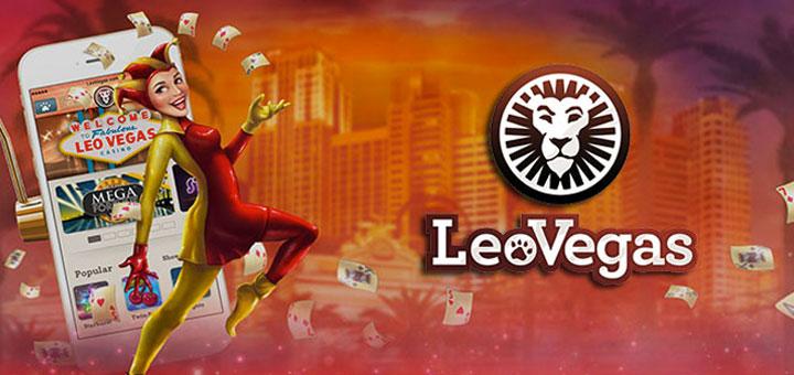 LeoVegas Log In: crea un account per scommettere online