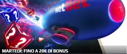Guida ai Bonus Benvenuto Netbet 2021