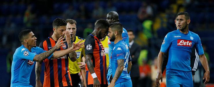 Diretta streaming Napoli vs Shakhtar Donetsk: Dove guardarla gratuitamente