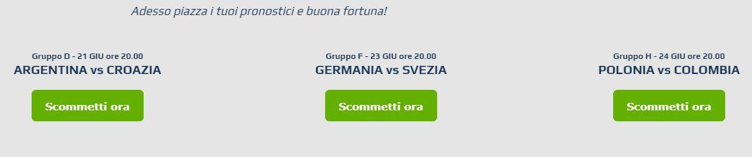 NetBet Bonus Mondiali 2018, 10€ per i big match in singola!