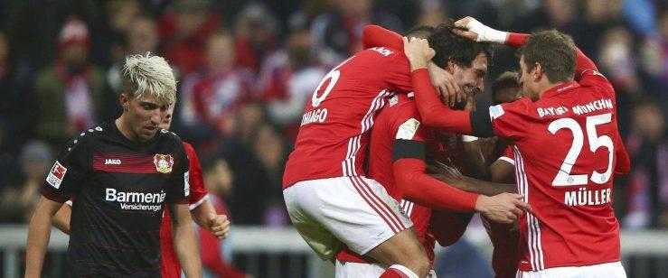 Bayer Leverkusen Bayern Monaco diretta streaming gratis