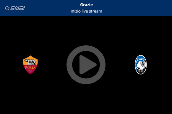 Roma Atalanta diretta streaming gratis