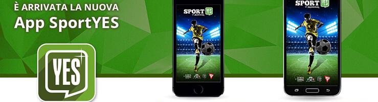 Tutto sul bonus benvenuto scommesse SportYes: fino a 50€ per nuovi clienti