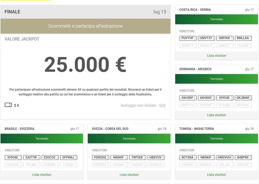 Unibet Jackpot Cup: 64 Jackpot e 100.000€ in palio